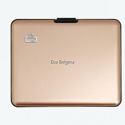 OGON BIG STOCKHOLM V1 THEFT PROOF CARD CASE RFID SAFE - Gold