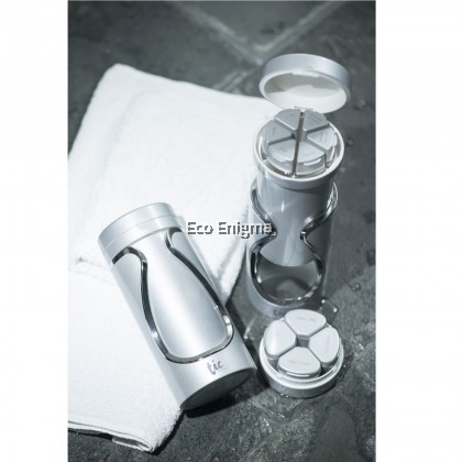 Tic Travel Bottle - Combo Set – Metallic Silver
