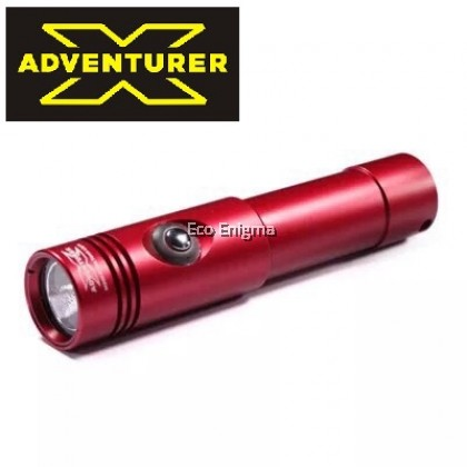 X-ADVENTURER M1200 LED Underwater Waterproof Scuba Diving Spot Light