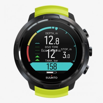 Suunto D5 The Dive Computer - Black Lime