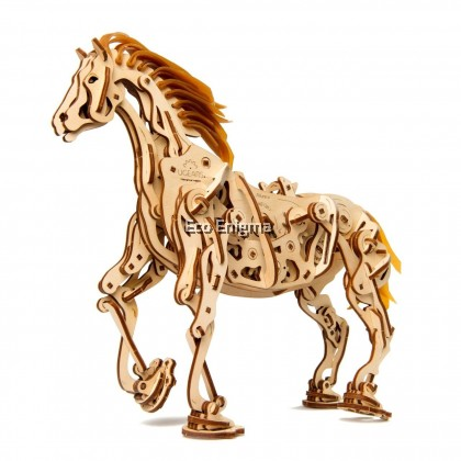 Ugears® Horse Mechanoid Wooden Model
