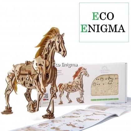 Ugears® Horse Mechanoid Wooden Model