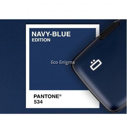 OGON Stockholm V1 Theft Proof Card Case RFID Safe - Navy Blue 2019