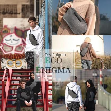 Bobby Bumbag Urban Cut Proof Water Proof Sling Bag Grey - XD Design