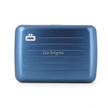 Navy Blue - Ogon Stockholm V2 Theft Proof Waterproof Card Case