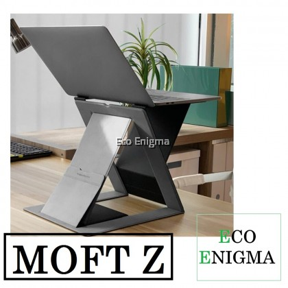 MOFT® Z 4-in-1 Invisible Sit-Stand Laptop Desk (Black)