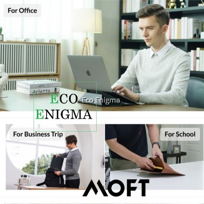 MOFT Carry Sleeve: Laptop Stand with Invisible Storage & Protection