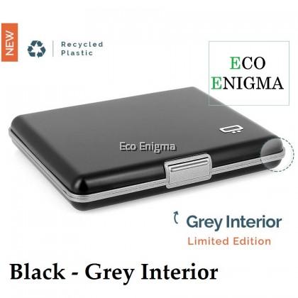 Black & Grey Interior 2020 - Ogon Big Stockholm V1 Theft Proof Card Case RFID Safe