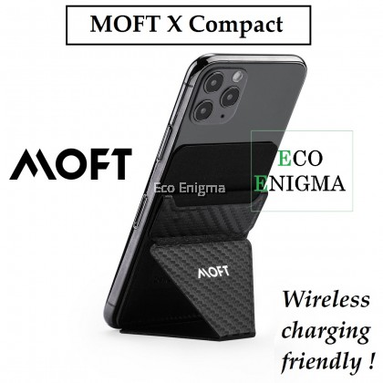MOFT X Compact - Invisible and Foldaway Stand for Phone – Wireless Charging Friendly
