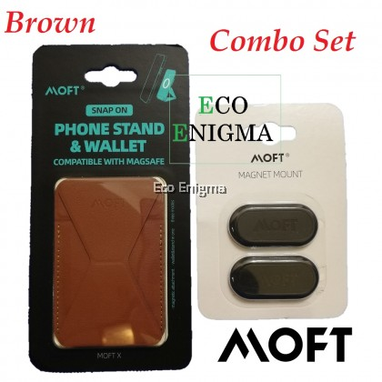 MOFT Snap-On Phone Stand & Wallet (MagSafe® Compatible) for iPhone 12 Series – Magnetic Version