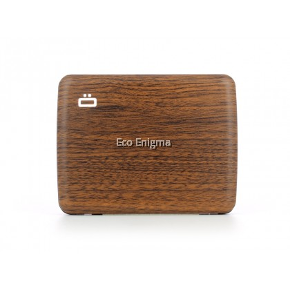 Ogon Smart Case V2 with Aluminium Style, RFID Theft Proof Waterproof Card Case (Colour: Sequoia )