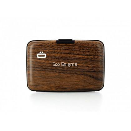 Ogon Smart Case Original V1 with Aluminium Style, RFID Theft Proof Card Case (Colour: Sequoia )