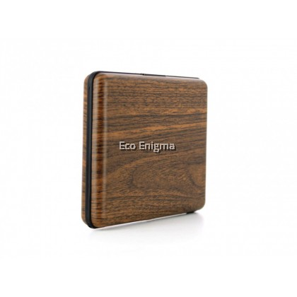 Ogon Smart Case V1 Large with Aluminium Style, RFID Theft Proof Card Case (Colour: Sequoia )