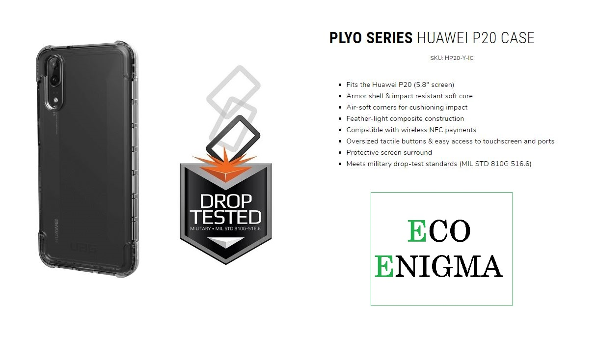 UAG Plyo Series for HUAWEI P20 - ICE