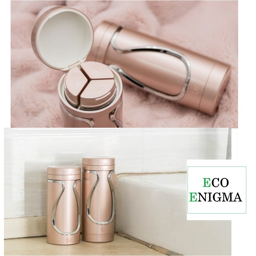 Tic Travel Bottle - Combo Set – Rose Gold