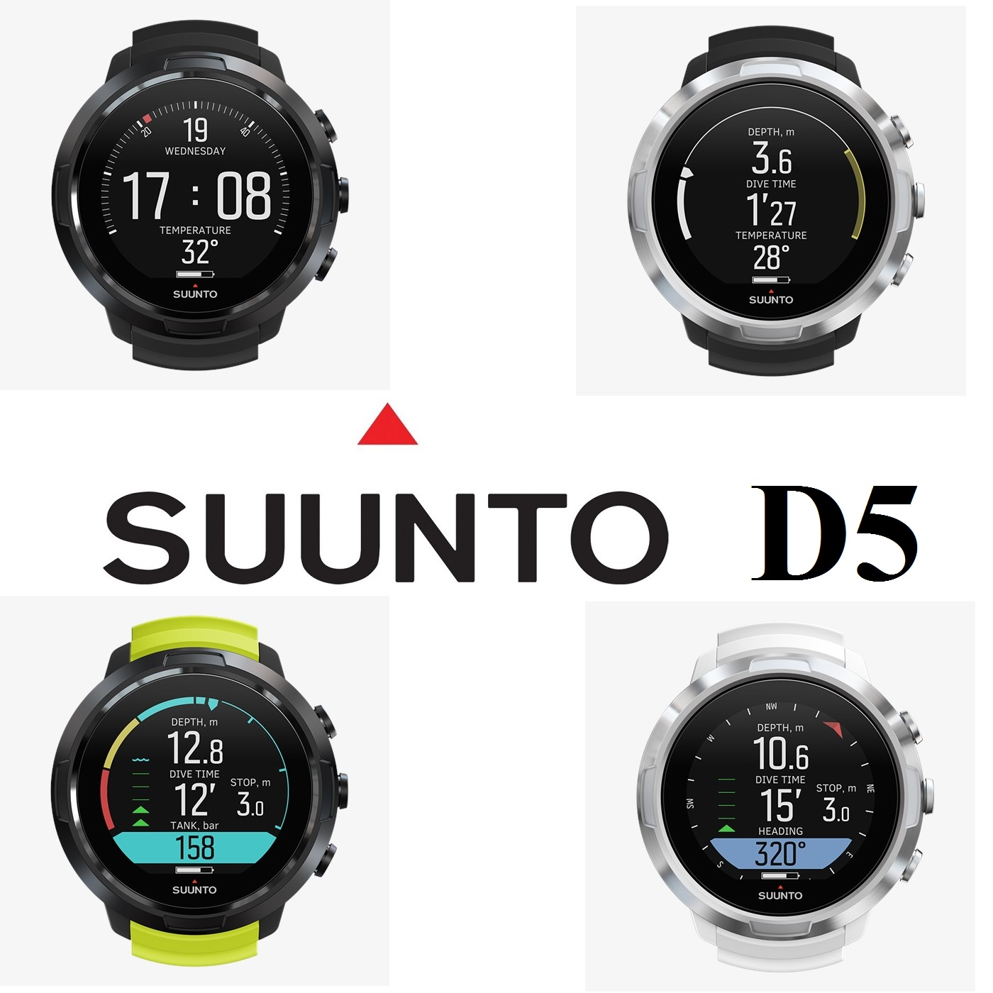 SUUNTO D5 The Dive Computer - Black