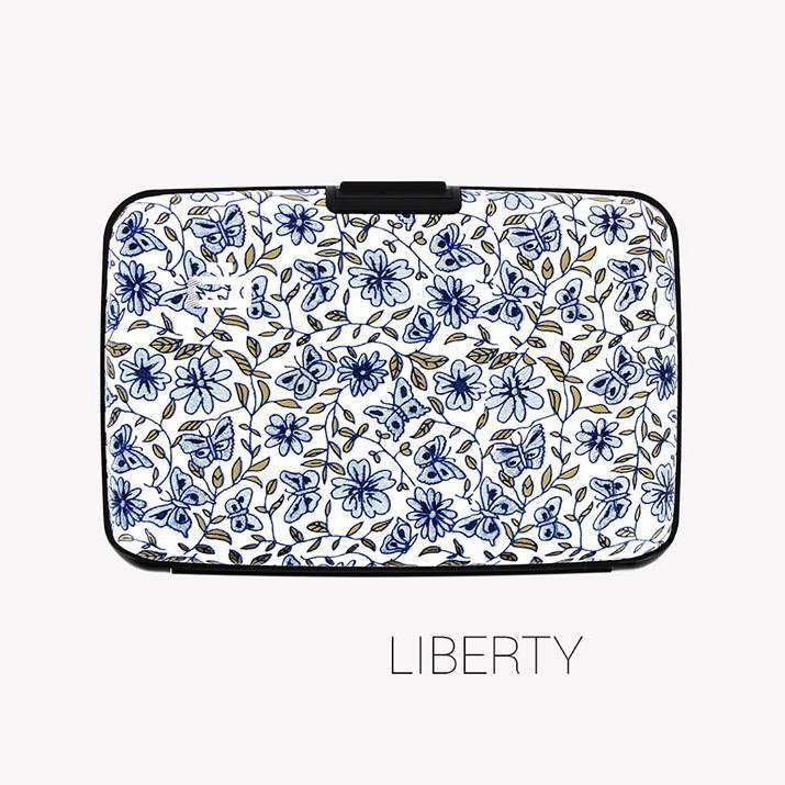 Ogon Stockholm V1 Card Case RFID Safe with Print Version - LIBERTY