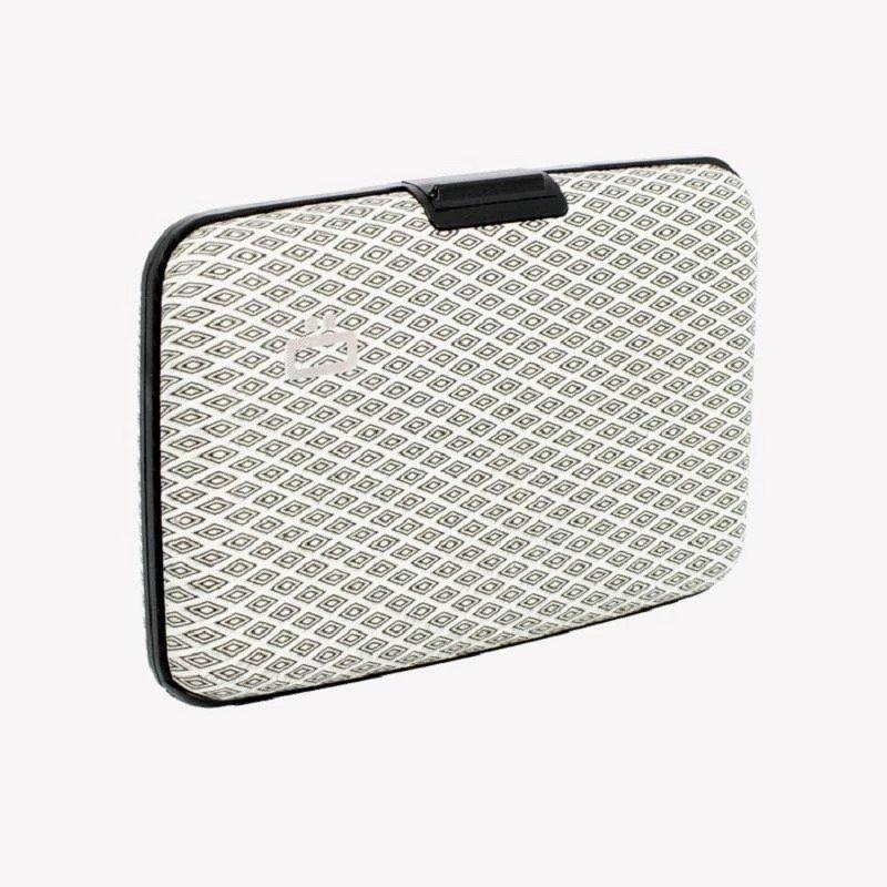 Ogon Stockholm V1 Card Case RFID Safe with Print Version - DIAMOND