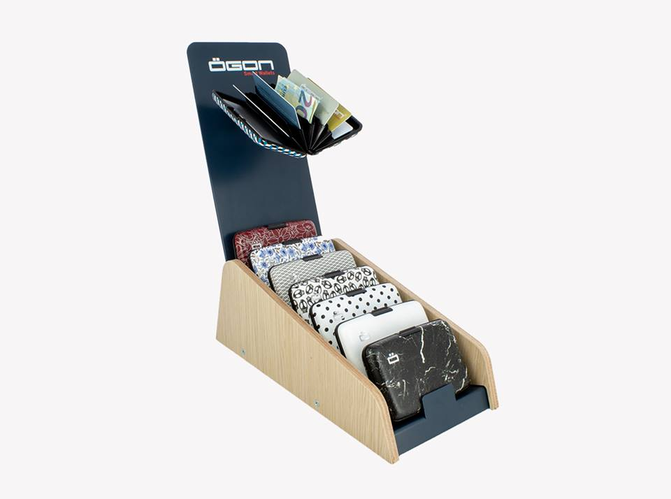 Big Ogon Stockholm V1 Card Case RFID Safe with Print Version - LIBERTY
