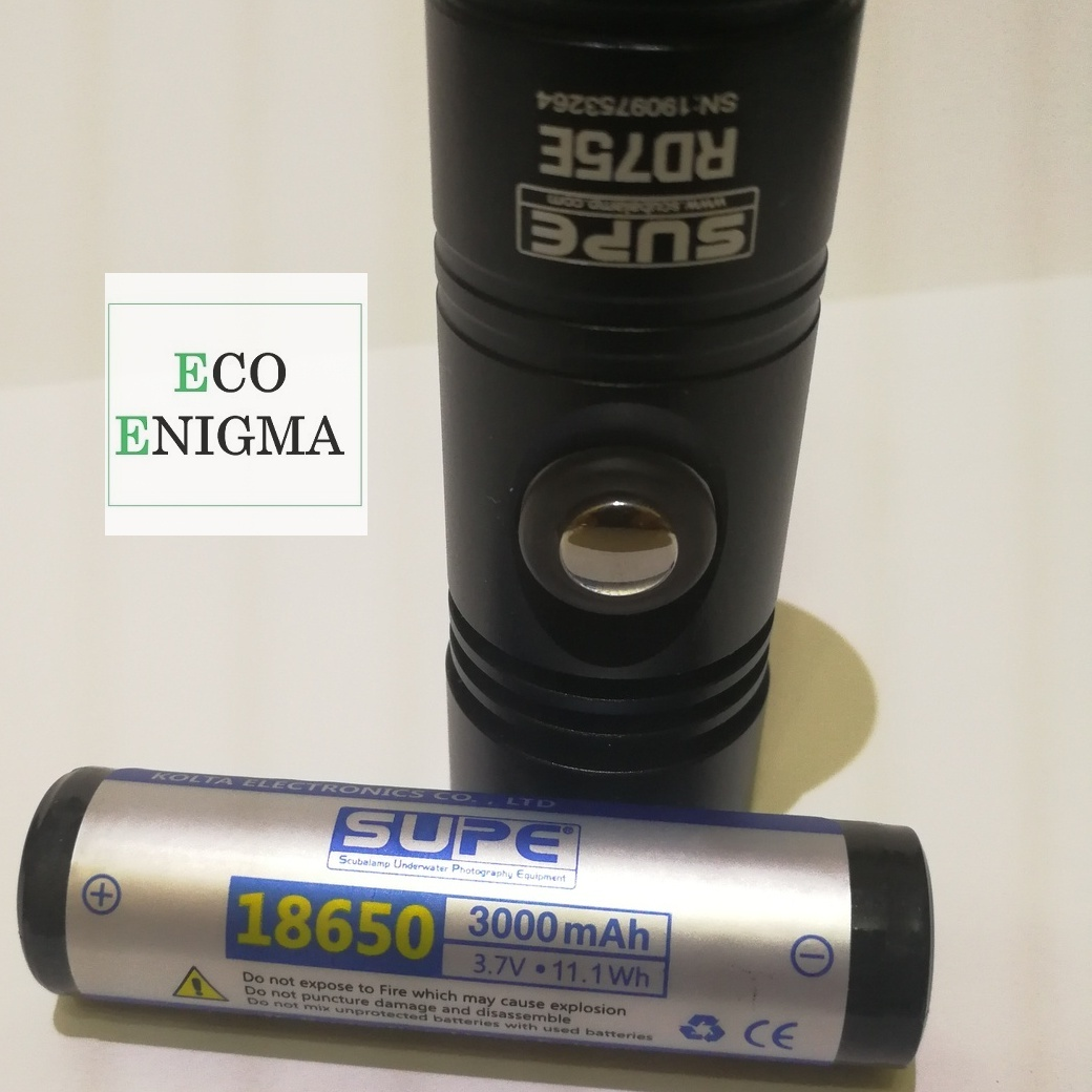 SCUBALAMP RD75E LED diving flashlight professional 1200 lumens 100 meters